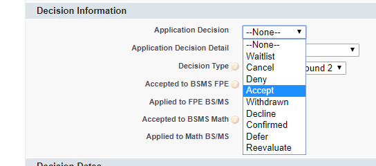 Application Edit